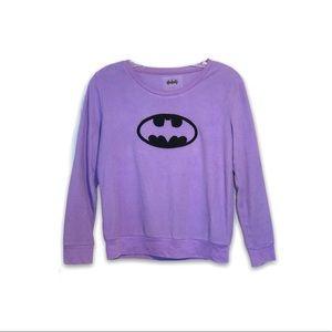 Batman Velvety Purple Sweatshirt 💜